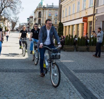 100 tysięcy wypożyczeń Radomskiego Roweru Miejskiego